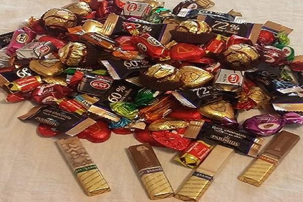 خرید عمده شکلات فله