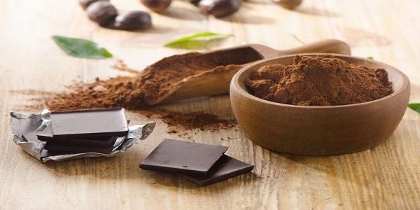 فروش پودر شکلات تلخ ارزان