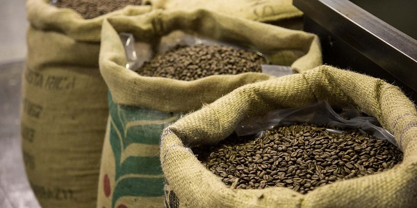 مرکز فروش قهوه در بازار