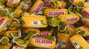 صادرات شکلات تافی میوه ای