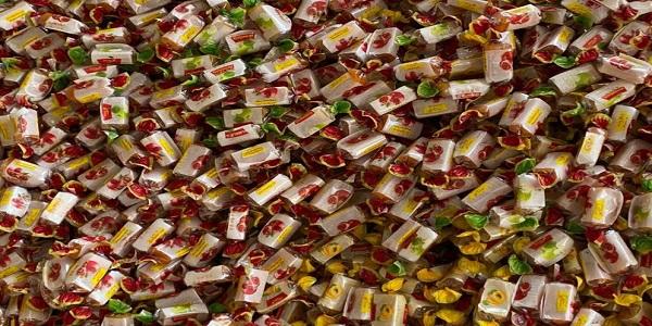 صادرات شکلات تافی میوه