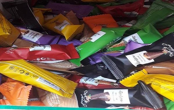 مرکز فروش صادراتی شکلات قیفی
