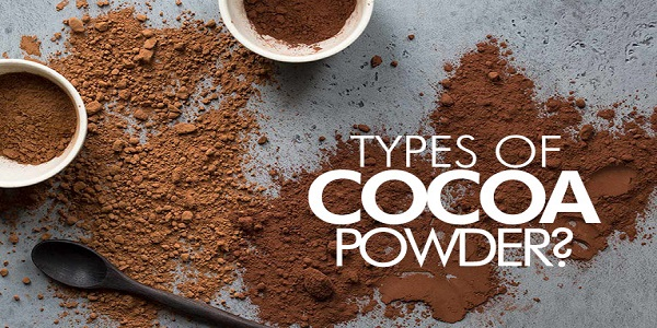 انواع پودر کاکائو